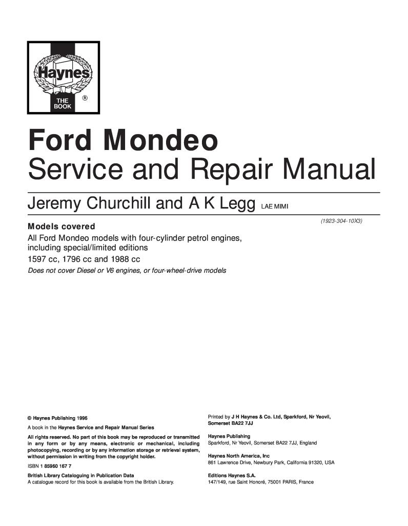 149 Rue Saint Honoré haynes ford mondeo service and repair manual.pdf (12.5 mb)